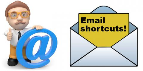 Create keyboard shortcuts to enable email messages to be quickly dealt with on the Apple Mac