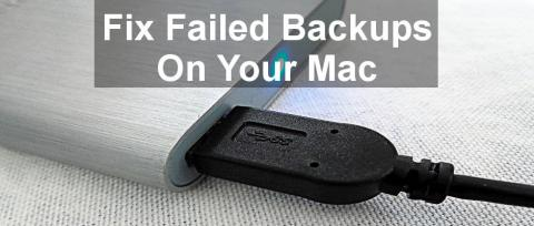 What to do when Time Machine backups fail on the Apple Mac. Don't panic, help is here. Try these tips