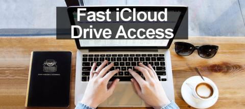 Create shortcuts to open iCloud Drive faster and see all of your iCloud files on the Apple Mac.