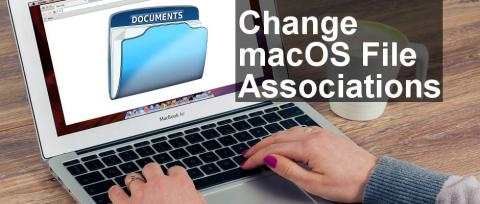 How to change file associations on the Mac for all files or just for one file, leaving the rest set to the default