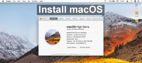 A stop-by-step guide to installing macOS High Sierra, the next operating system from Apple for Mac owners. Download it and install it.
