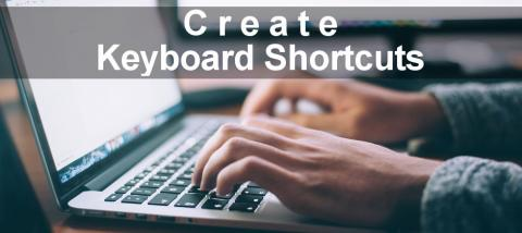 A step by step guide to defining keyboard shortcuts on the Apple Mac to save time and effort. Add shortcuts to your favourite apps.