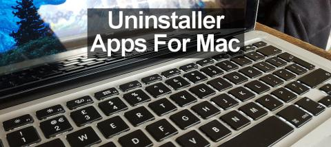 Two apps for the Apple Mac to help you uninstall apps properly including all their associated files.