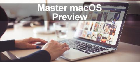 Discover little known Preview app features on the Apple Mac