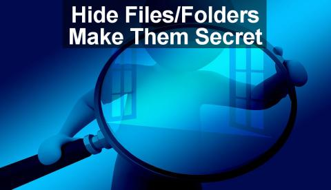 Hide files and folders on your Apple Mac that you do not want others to see. Make then private so only you can see them and access them.