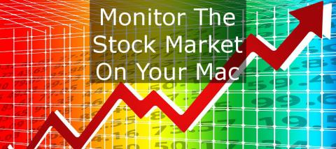 Use your Apple Mac to track share prices on the stock market using the Today Stocks widget and Stockfolio, an inexpensive app in the Mac App Store