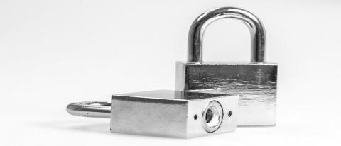 Padlocks - handy for locking things!