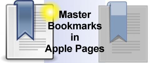 Use the brilliant bookmarks feature in Apple Pages when creating long documents on the Apple Mac. Create bookmark links to other parts of long documents.