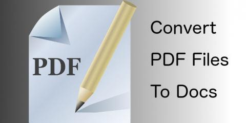 How to convert PDF files to Docs and edit them in Pages, Word and other apps