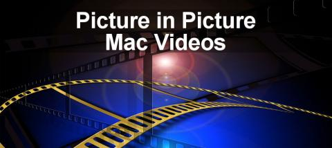 How to use Picture in Picture in Safari on the Apple Mac to watch videos on YouTube and other sites.