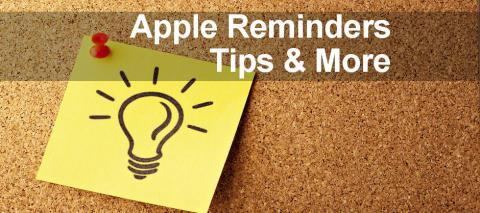 How tp print from the Apple Reminders app and alternatives to Apple Reminders.