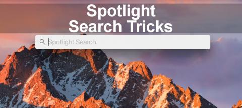 How to find files on the Mac by using Spotlight tricks that are not well known. Learn the secrets of successful searching.