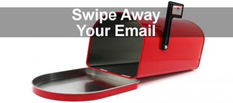 Discover how to quickly deal with emails on the Mac by swiping them away. Configure the swipe actions.