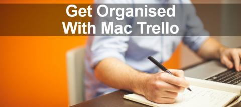 Trello is a free web service for organising project and tasks, but it is als a Mac desktop app too