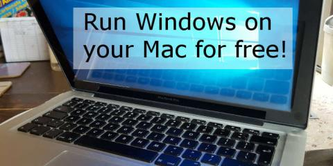 Download Windows for free and run it on your Apple Mac