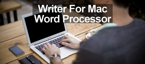 Writer for the Apple Mac is a word processor that works with online documents. It's a tiny app with lots of features.