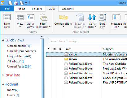 Windows Live Mail 2014
