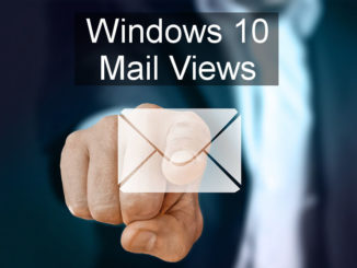 How to customise the view of your email inbox using the Windows 10 Mail app on a PC