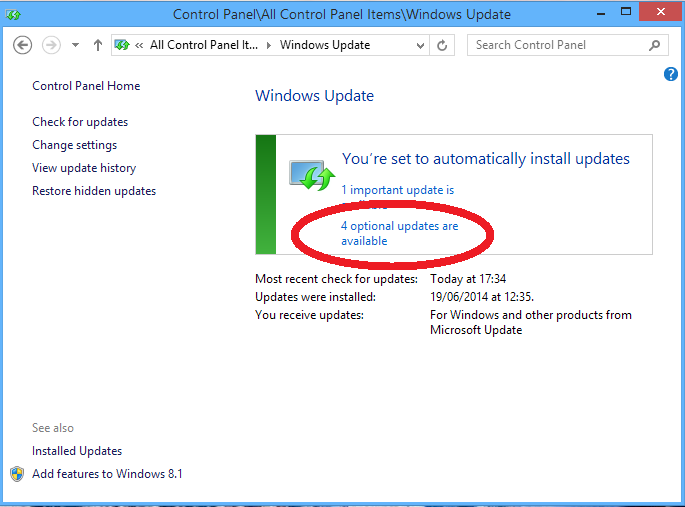 manually download updates for windows 7
