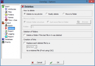 CloneSpy duplicate file finder