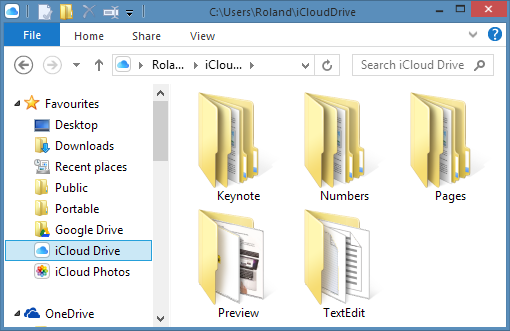iCloud Drive for Windows