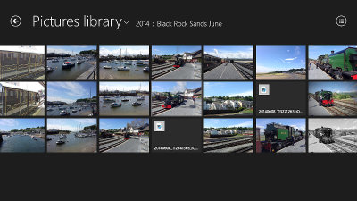 Photos app in Windows 8