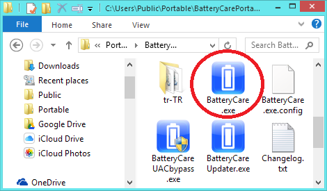 BatteryCare battery monitor