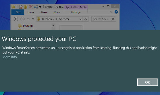 Protect against malware with SmartScreen