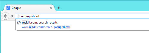 Firefox keyword search