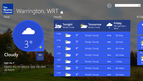replace windows 8 weather with a better app