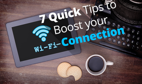tips to increase Wi-Fi speed