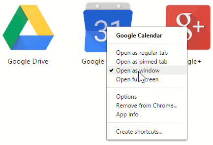 Use Chrome apps
