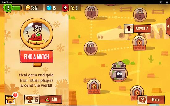 King of Thieves app
