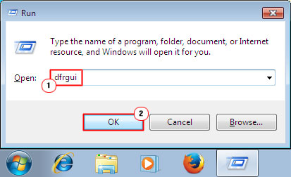 Windows Disk Defragmenter
