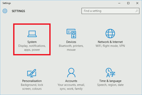 Windows 10 Settings app - the place to configure the way Windows works