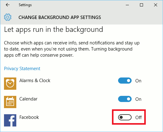 See which apps run in the background in Windows 10 and stop them to reduce power usage