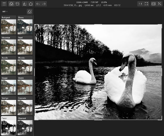 Photo Editor | Polarr has a collection of filters that apply special effects to your photos