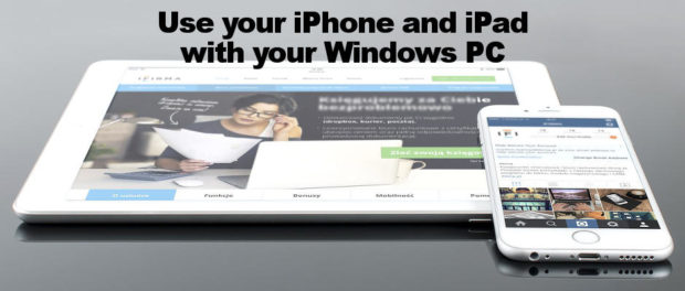Use the iPhone and iPad with a Windows computer