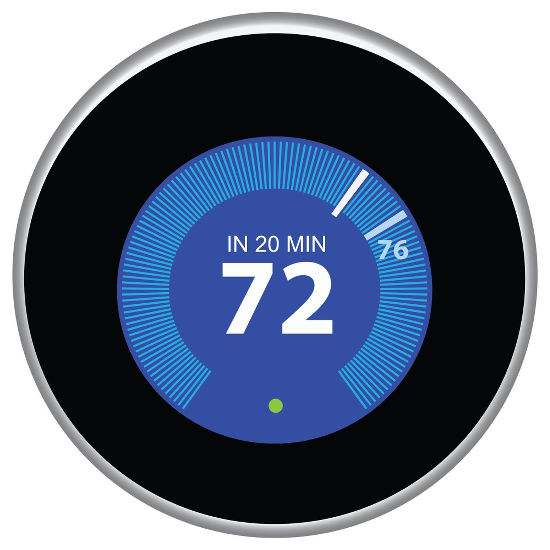 Control your heating with Nest thermostat