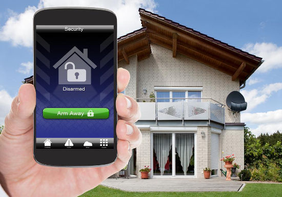 Secure your home from your phone