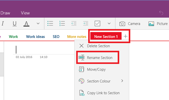 Sort out your Microsoft OneNote notes and organise them by topic