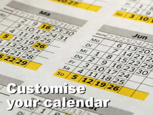 Customise Microsoft Office web calendar through the settings online - rawinfopages.com