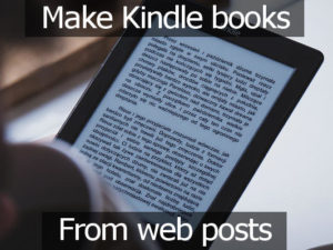 Make Kindle ebooks from web pages using the Readability extension for Google Chrome - rawinfopages.com