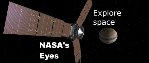NASA's Eyes is a brilliant app that enables you to explore the solar system and the galaxy - rawinfopages.com