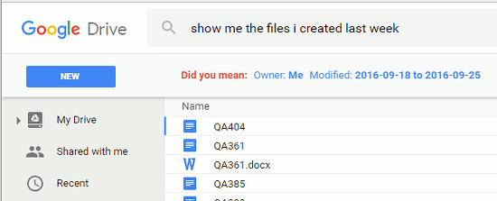 Top tips for searching Google Drive