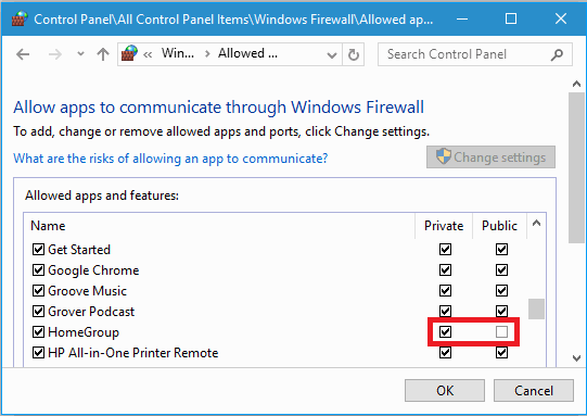 Block or allow programs using Windows Firewall