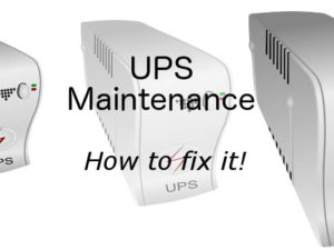 Is the UPS (uninterruptable power supply) for your PC faulty? This guide shows how to fix it