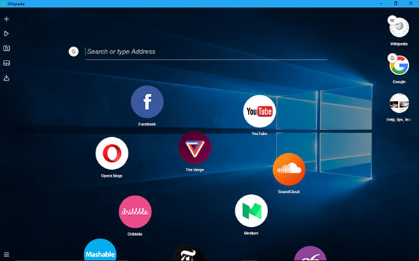 Opera Neon is a new vision for web browsers