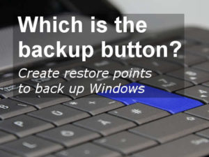System Restore is a key feature in Windows, but it can be hard to find. Here's your guide