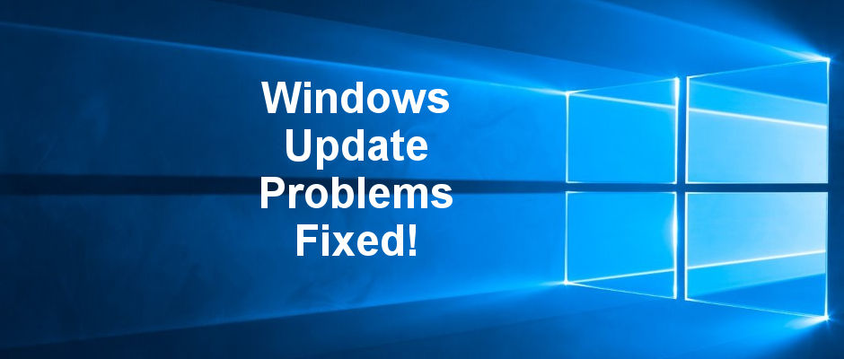 Problems with Windows Update in Windows 10 cam be solved by following these steps